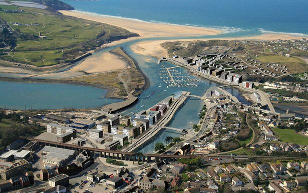 Cornwall Council hopes that its involvement in the development at Hayle Harbour, as seen in this artist's impression, will help provide 600 homes and 600 jobs